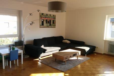 Helle Wohnung mit 2 Balkonen und Gartenzugang - Freiburg im Breisgau