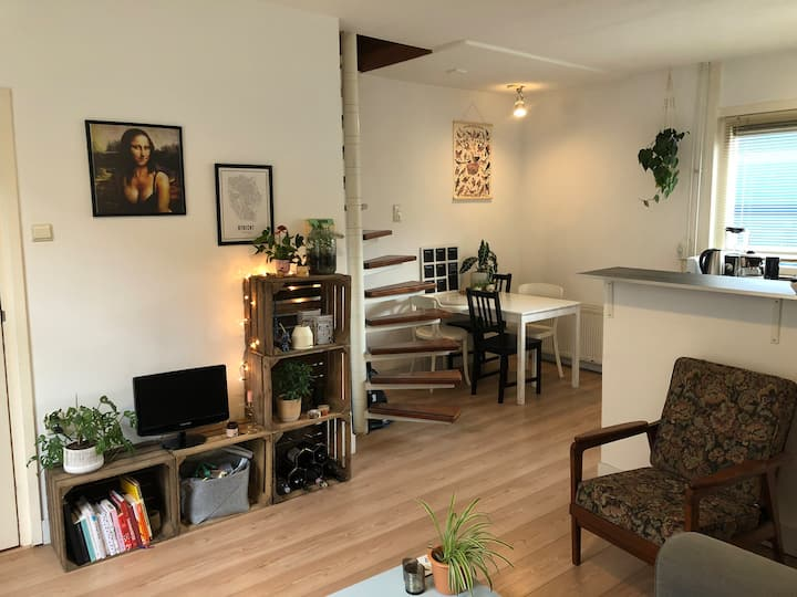Gezellig huis, 10 minuten naar Utrecht centrum ⭐️
