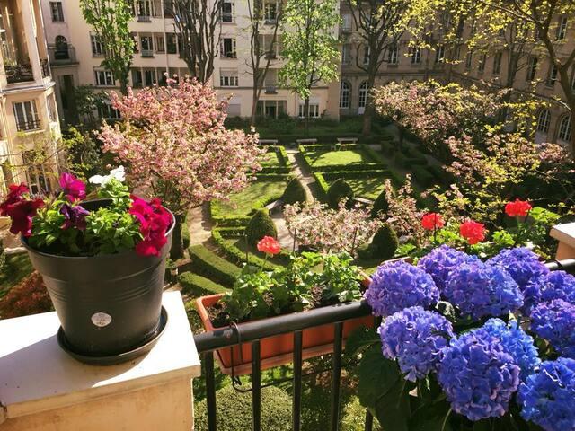 Designer Duplex with Private Garden