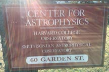 The Center of Astrophysics just a short walk away