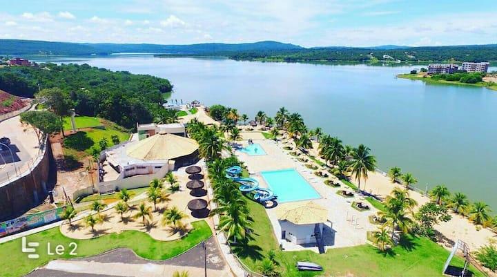 Apto 1/4-Resort do Lago Caldas Nova Corpus Christi