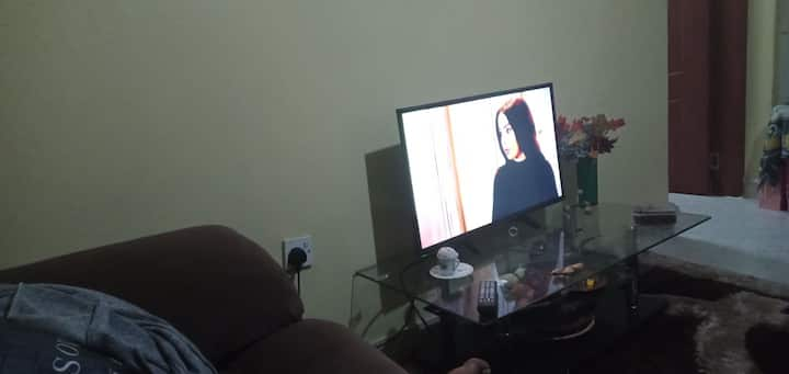 Mary's cozy apartment