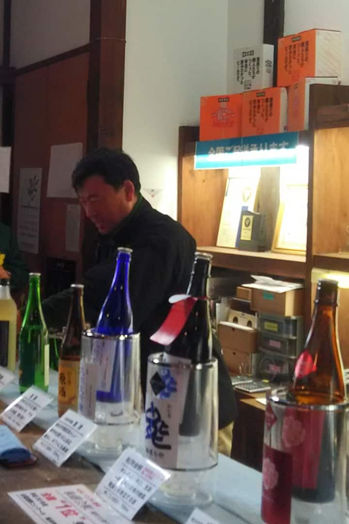 Sake brewery Visit - non-alc available