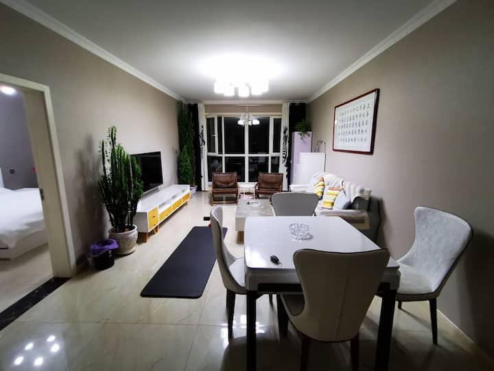 嘉丰国际城现代简欧两居室