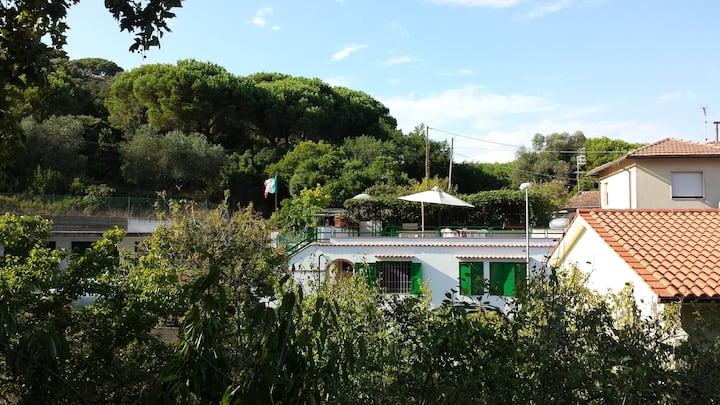 Anna's home. Cavo nature & beaches