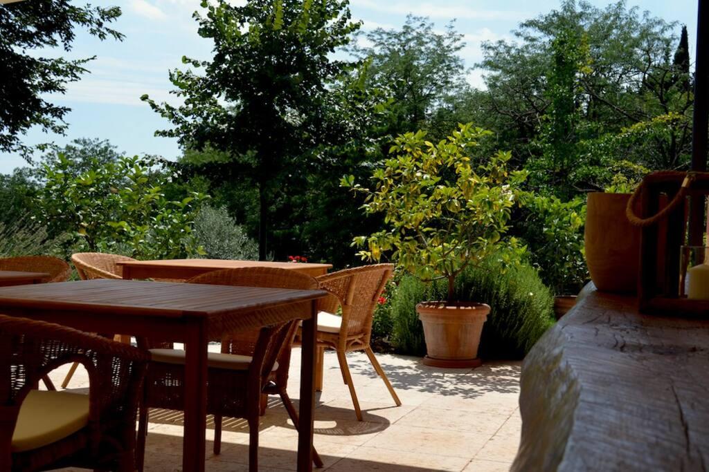 Agriturismo Sommavalle Giardino
