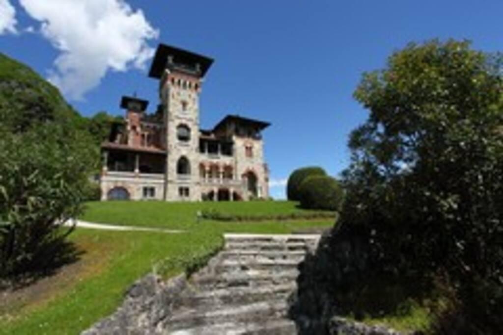 Villa Gaeta, landmark on the lake