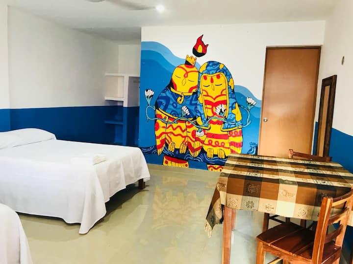 Hostel Ka'an, private room