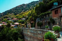 A typical Cypriot mountain village