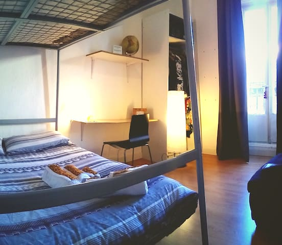 Double Room. The best location in Madrid