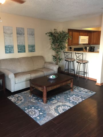 Fully furnished ground level with W/D 40-107