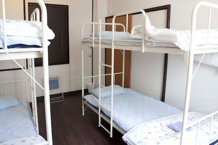 Blue door gusthouse  dormitor room  - Imabari