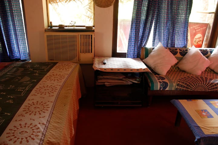 Double bed room at Cottage
