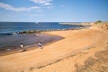 There is plenty of beach on Plum Island to relax on, and many beautiful walks to enjoy.