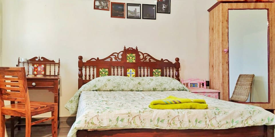 AC Room no 4 @ OK North East Riverview Homestay