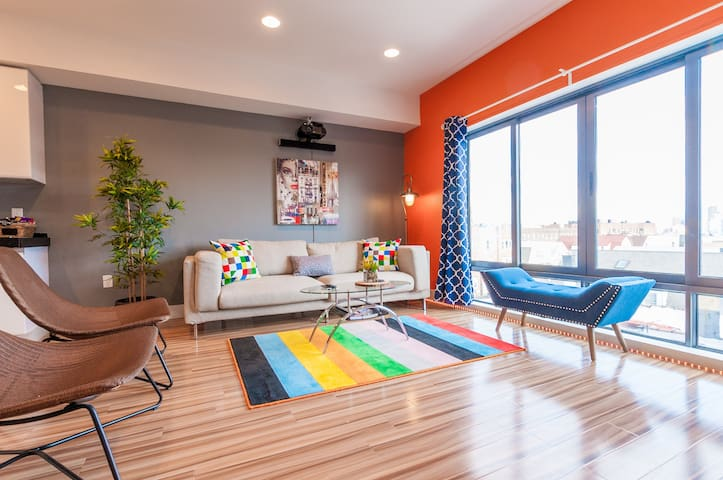 NEW AMAZING 2BR PENTHOUSE- 15 MINS to TIMES SQUARE