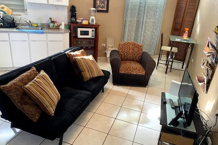 Comfortable and equipped apartment.