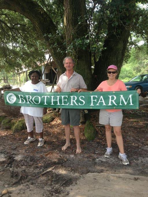 Enjoy a Brothers Farm Experience!