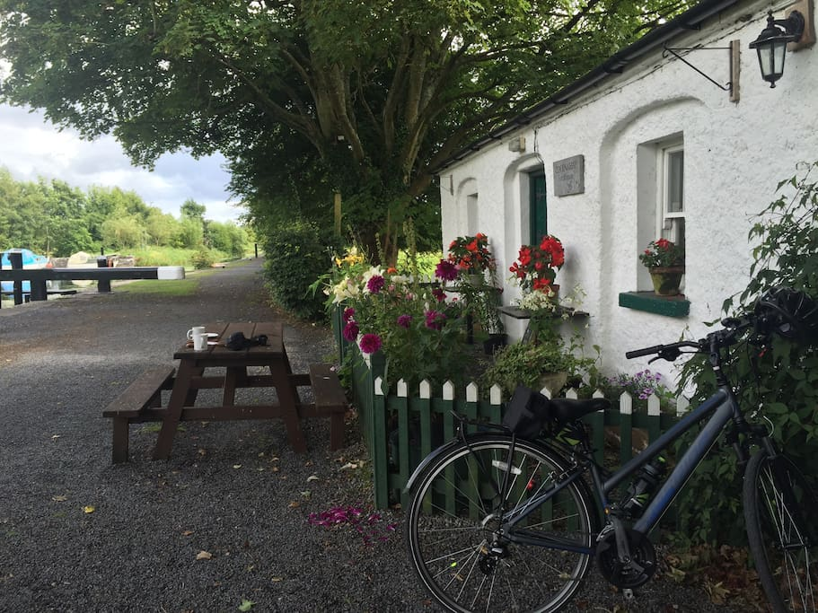 Cycle the canal way and stop for homemade bread and black current jam!