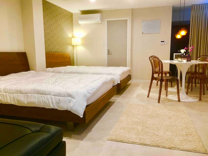 Near Namba/Dotombori/Shinsaibashi/Orange St Room4F