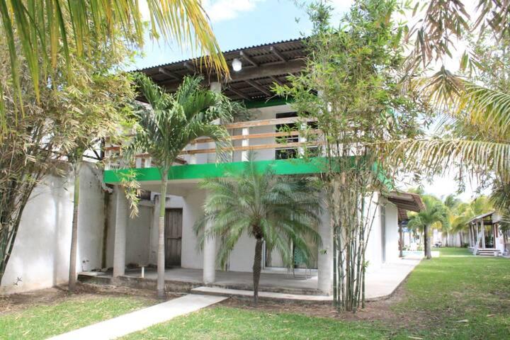 Quinta frente al Río Dunas de Juan Ángel  Veracruz