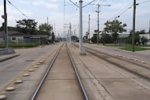 The  train will take you into your business meeting and events like basketball,  and baseballs. Also it will take you to the medical center and the museum of fine Arts and the Houston Zoo.  Great location to start your explore in Houston.
