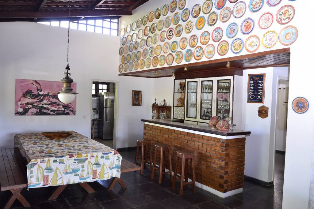 Sala de Jantar e Bar