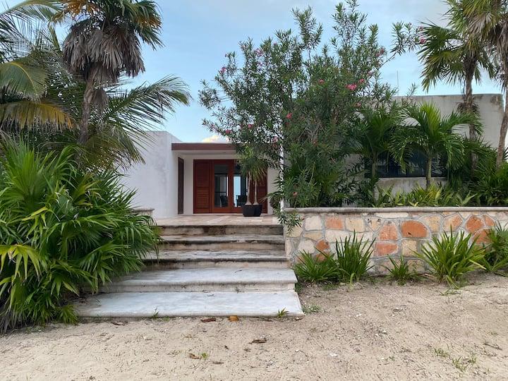 Casa Vacacional frente al mar en Progreso