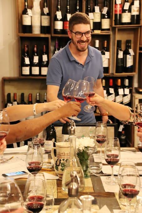 Christian, one of the  sommelier group!