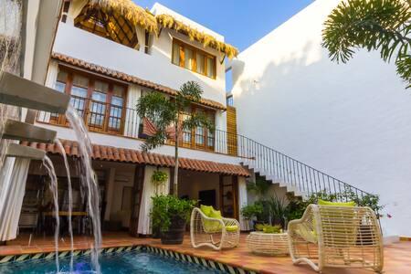 Casa Dalusso Blue Room Old Town Puerto Vallarta - Puerto Vallarta