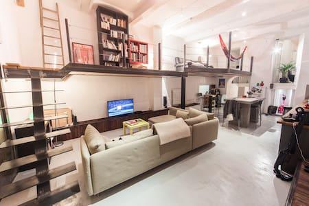 Grand loft atypique mêlant moderne et ancien - Marsiglia - Loft
