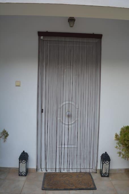 Κεντρική είσοδος σπιτιού