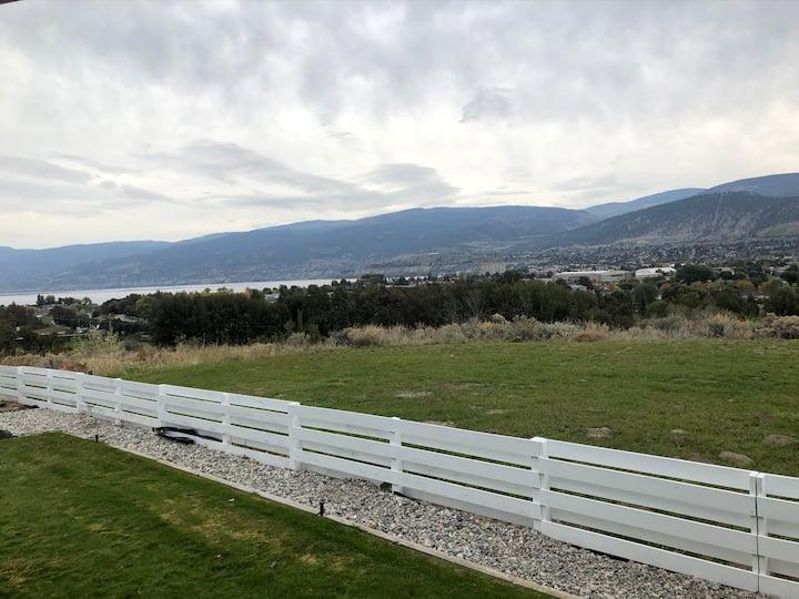 Beautiful view in rural setting