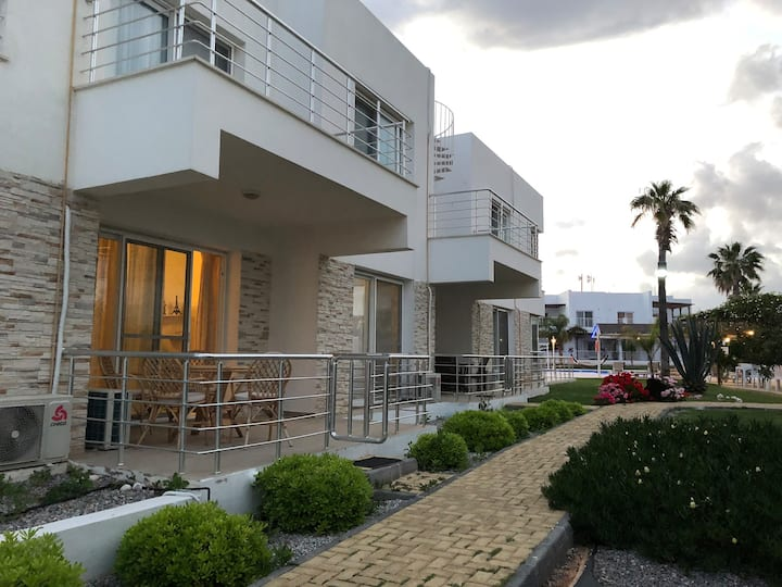 Nice beach apartment in Cyprus North