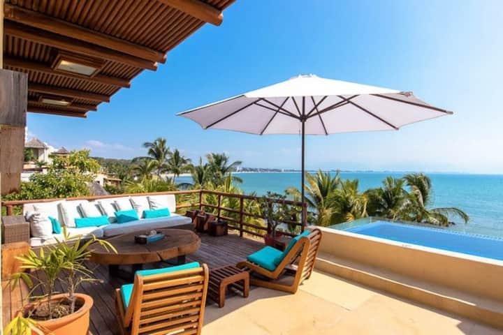 Exclusive Beachfront Villa at Punta Esmeralda