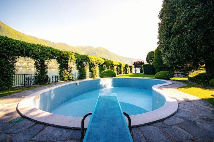Luxury Apartment Villa Le Rose with pool
