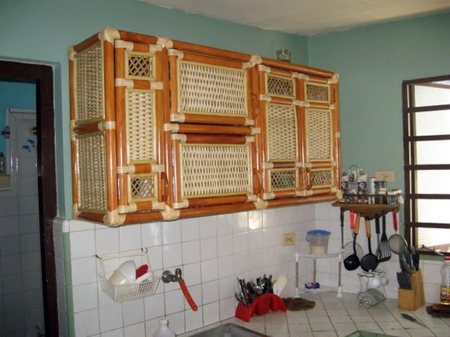 Bright, modernized kitchen