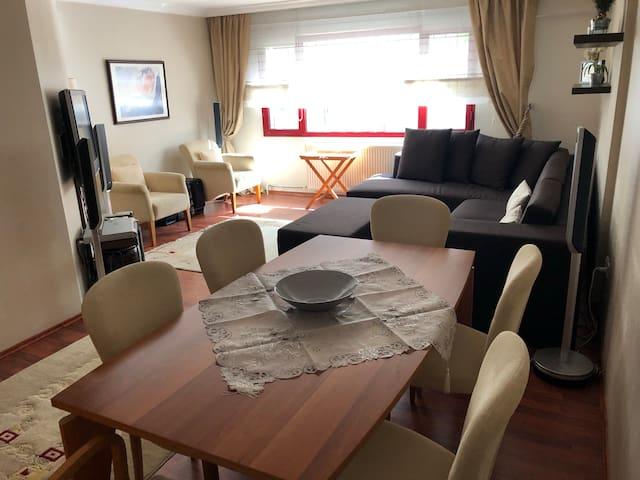 Luxury sparkling clean 3-bedroom apartment