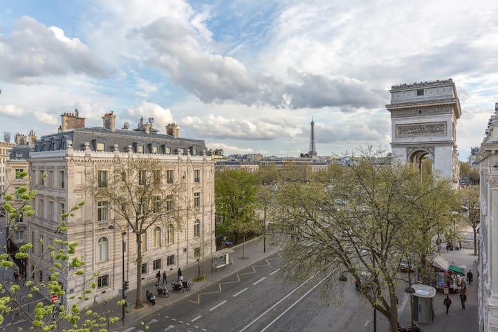 ★ Sunny Apartment with exceptional balcony view - Paris - Leilighet