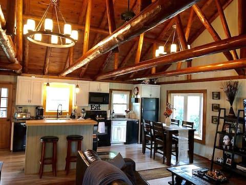 Rustic 'Log Cabin' in Quiet CF Neighborhood!