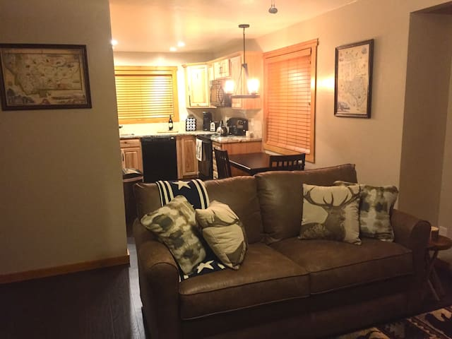 Cowboy Condo: 2 Bedroom Whitefish Condo