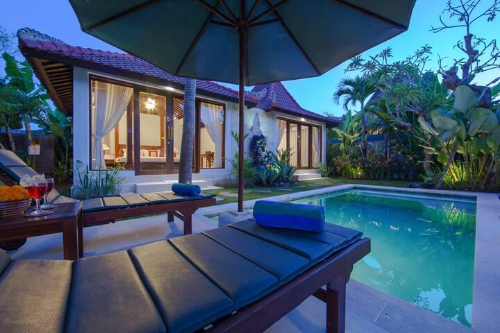 One Bedroom Pool Villa At Anyar Sari Villa Canggu