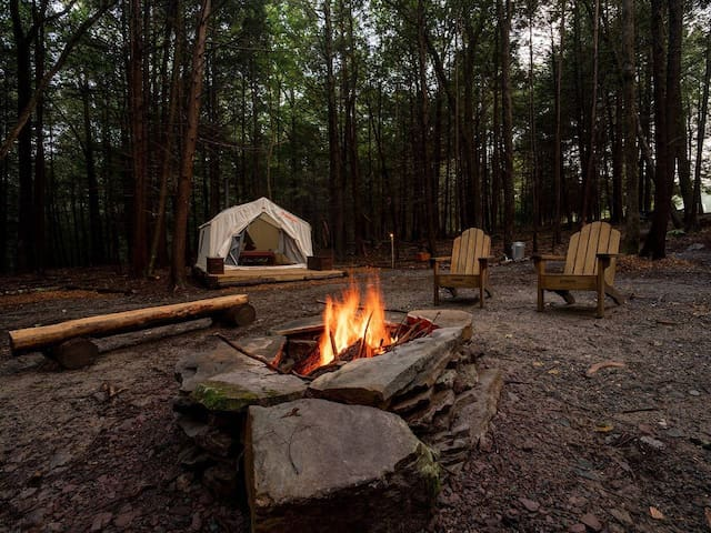 Tentrr - The Mongaup River Camp