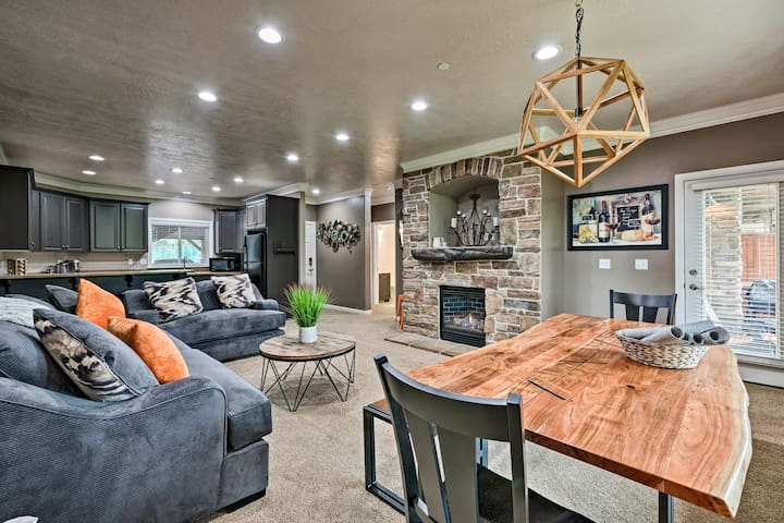 Renovated Condo 8 Miles to Snowbasin Ski Resort!