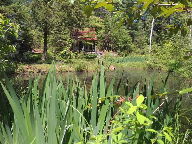 chalet rustique dans le bois**rustic cottage in the woods