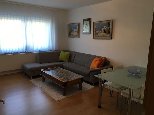 Zentrale Wohnung im Herzen Ulms 2 Per.