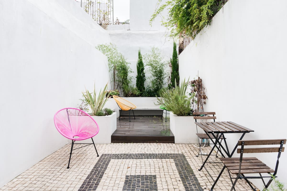 Design Flat with Private Garden Av Liberdade Lisbon