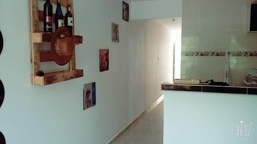 Habitación privada amoblada - Valledupar - Flat