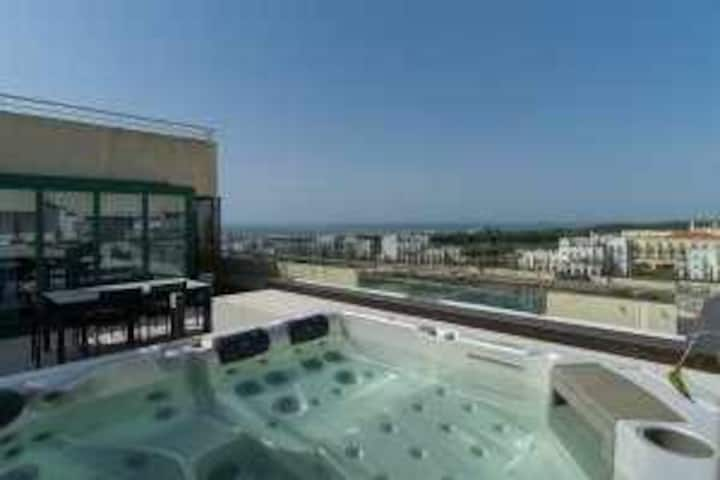 VilamouraSun Aquamar 606 - Private Penthouse, Full Terrace With Jacuzzi