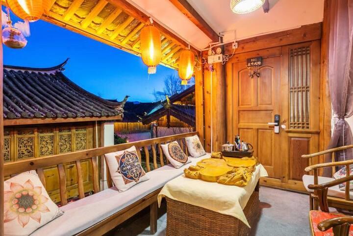 新房特惠 丽江古城 免古维空调大床房 可接机 可洗衣 可做饭 提供旅游攻略